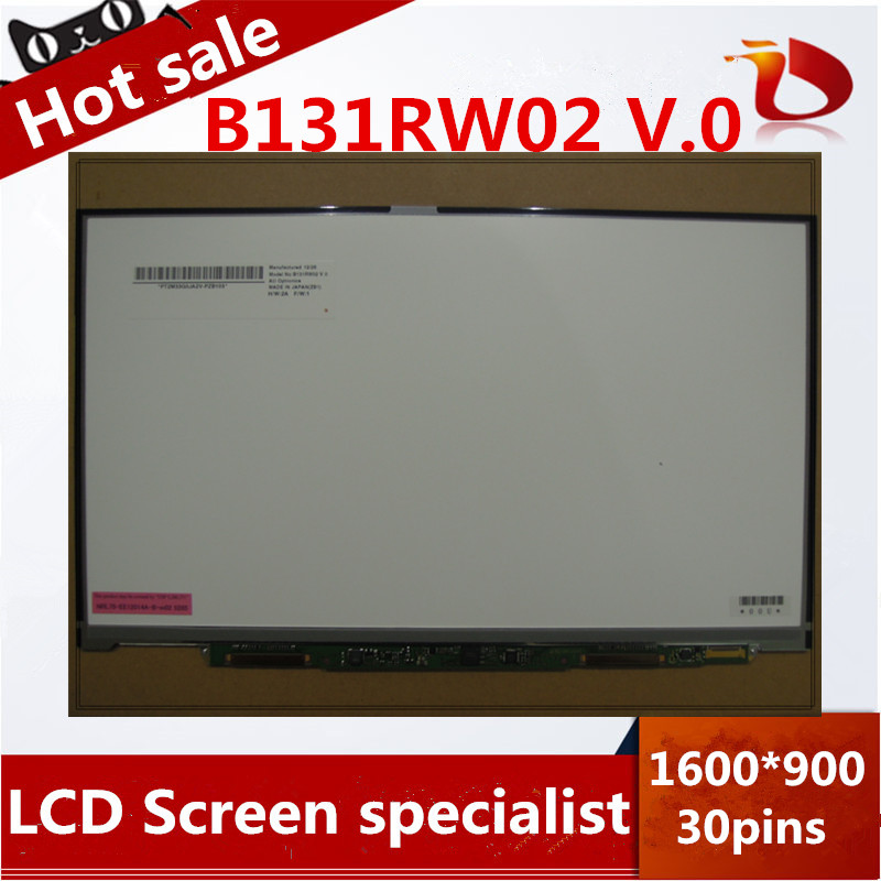 For Sony Vaio VPCZ2 VPCZ21M9E PCG-41311M 13.1 LED LCD Screen Panel 1600*900 B131RW02 for sony vpcy2 pcg 51111t 41219t 41217t 51311t 13 3 wxga laptop led lcd screen