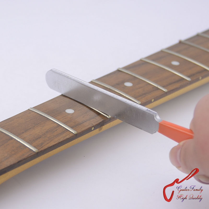 GuitarFamily Fret File For Guitar Fret Crowning ( Fit Jumbo fret / Medium Fret )