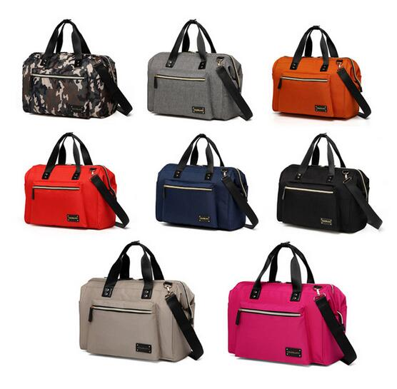 Colorland Stylish Large Multi function Waterproof Messenger Tote Baby Diaper Bag Nappy Changing Bag Changing Pad