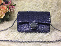 2016 women leather handbags top quality manual beading genuine leather chain bags free shipping REN ZHUO