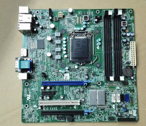 US $47 7 10% OFF|Suitable for DELL Optiplex 990 790 T1600 SMT  motherboard,6D7TR 06D7TR, VNP2H 0VNP2H S1155,Q67,DDR3,work perfect-in  Motherboards from