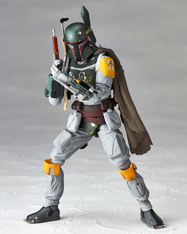 2016 New Hot Star Wars REVO 005 Bounty Hunter Boba Fett 16cm Toys PVC Action Figure
