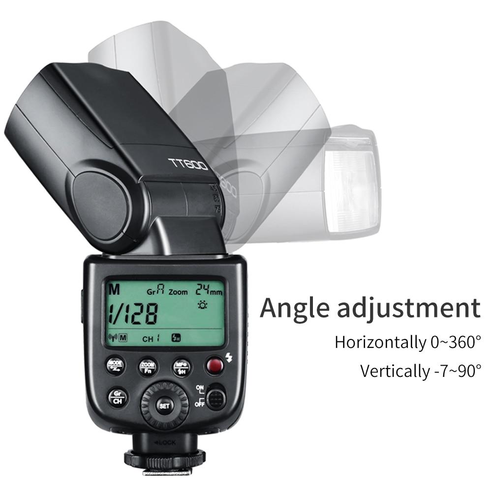 Image 4 - Godox TT600 2.4G Wireless GN60 Master/Slave Camera Flash Speedlite with Xpro Trigger for Canon Nikon Sony Pentax Olympus FujiFlashes   -