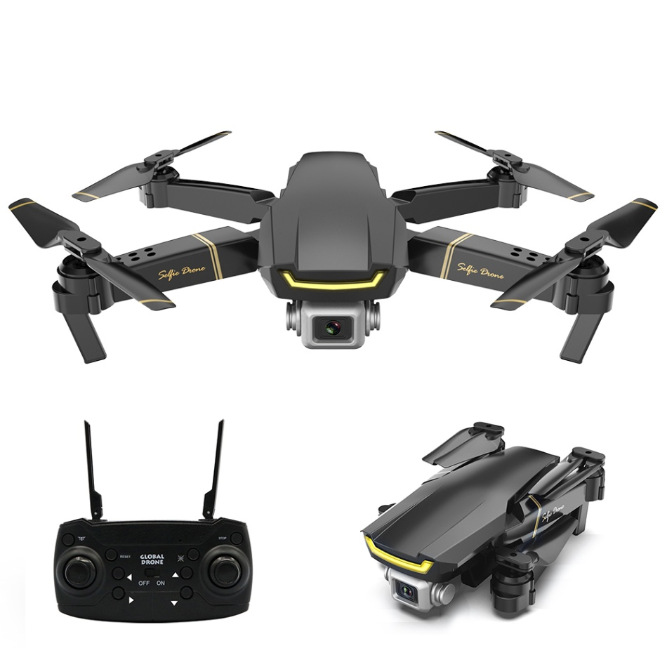 GLOBAL DRONE GW89 RC Drone with 1080P Camera Wifi FPV Gesture Photo Video Altitude Hold Foldable