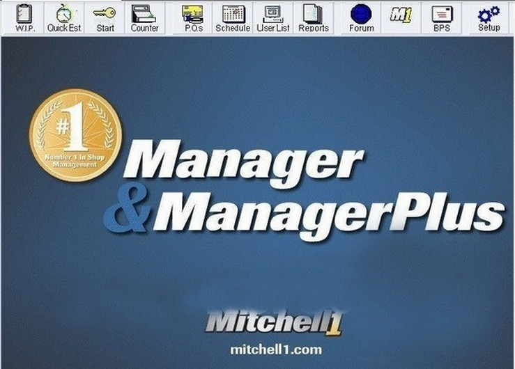 mitchell manager plus