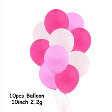 10 Inches Colorful Store Decoration Latex Balloon Set For Wedding Supplies Birthday Party Combined