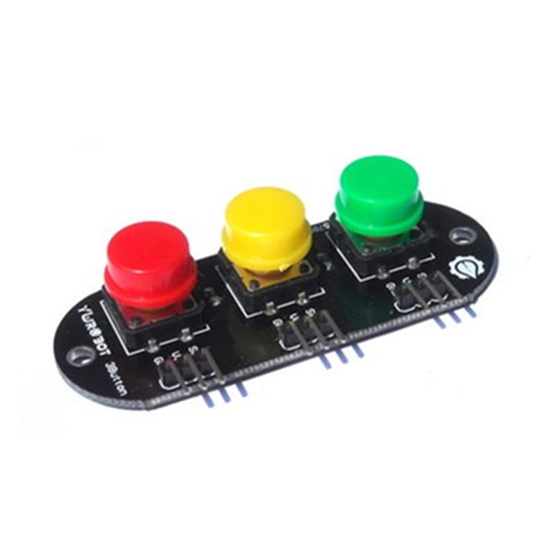 3 Bit 3 Color High Keypad Button Module For Arduino Electronic Blocks