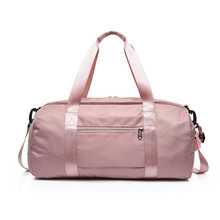 2018 Stylish Outdoor Waterproof  Nylon Sports Gym Bags Men Women Girls Training Fitness Travel Handbag Yoga Mat Bag Sac Sport