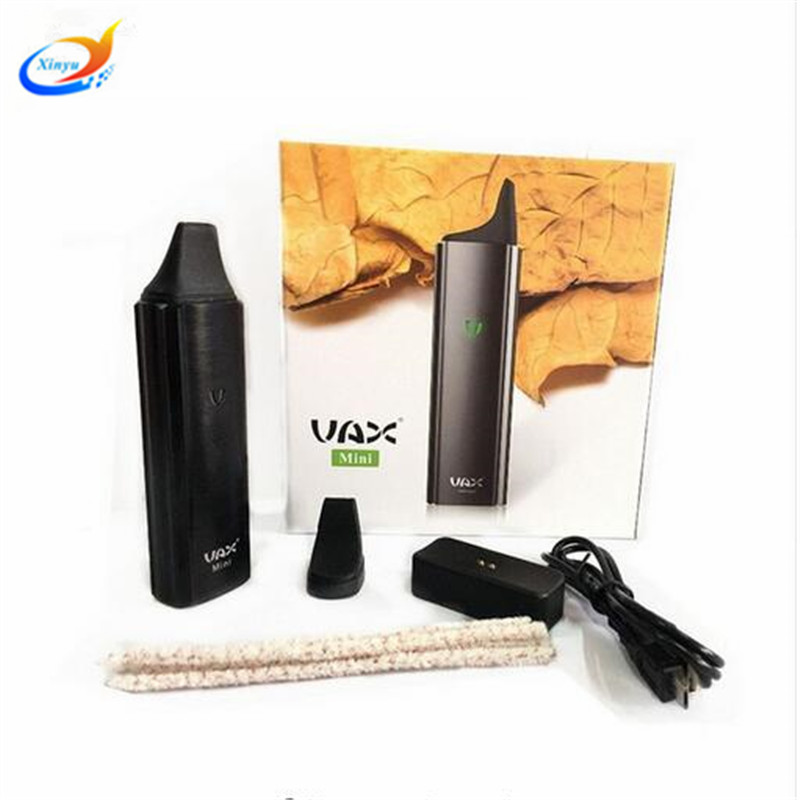 Dry Herb Vaporizer Vax mini 3000 mah vape pen kits 360-464 F Temperature Control herbal vaporizer electronic cigarette mini Mod honwo vape giftbox mini dry herb vaporizer