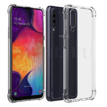 Scratch Resistant Silicone Soft TPU Cover For Samsung Galaxy A50 M40 Cover Phone Case For Samsung A50 2019 A505 A505F SM-A505F(China)