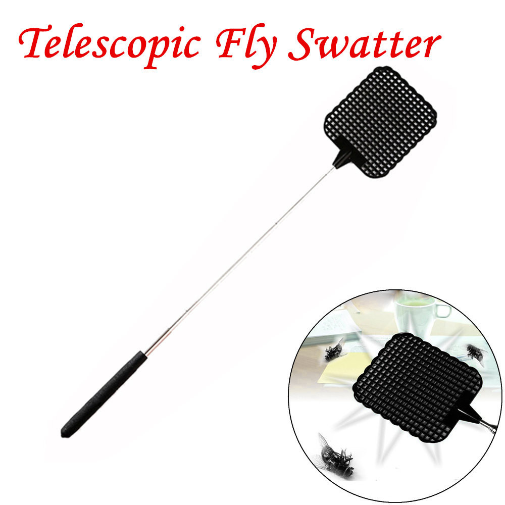 Kitchen Accessories Kitchen Tools Telescopic Extendable Fly Swatter Prevent Pest Mosquito Tool Flies Trap*25