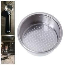 Прочная корзина для кофейных фильтров из нержавеющей стали без давления для кухни Breville Delonghi Krups, аксессуары для кухонной кофеварки