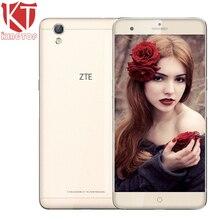 """Оригинальный ZTE V7 max 4 г LTE мобильный телефон 3/4 ГБ Оперативная память 32 ГБ Встроенная память octacore 1.8 ГГц 5.5 """"16MP Android 6.0 3000 мАч отпечатков пальцев Смартфон"""