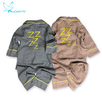 YOUXIAOMA Baby Pajamas Suit Spring And Summer New Children S Clothing Boys And Girls Plaid Loose