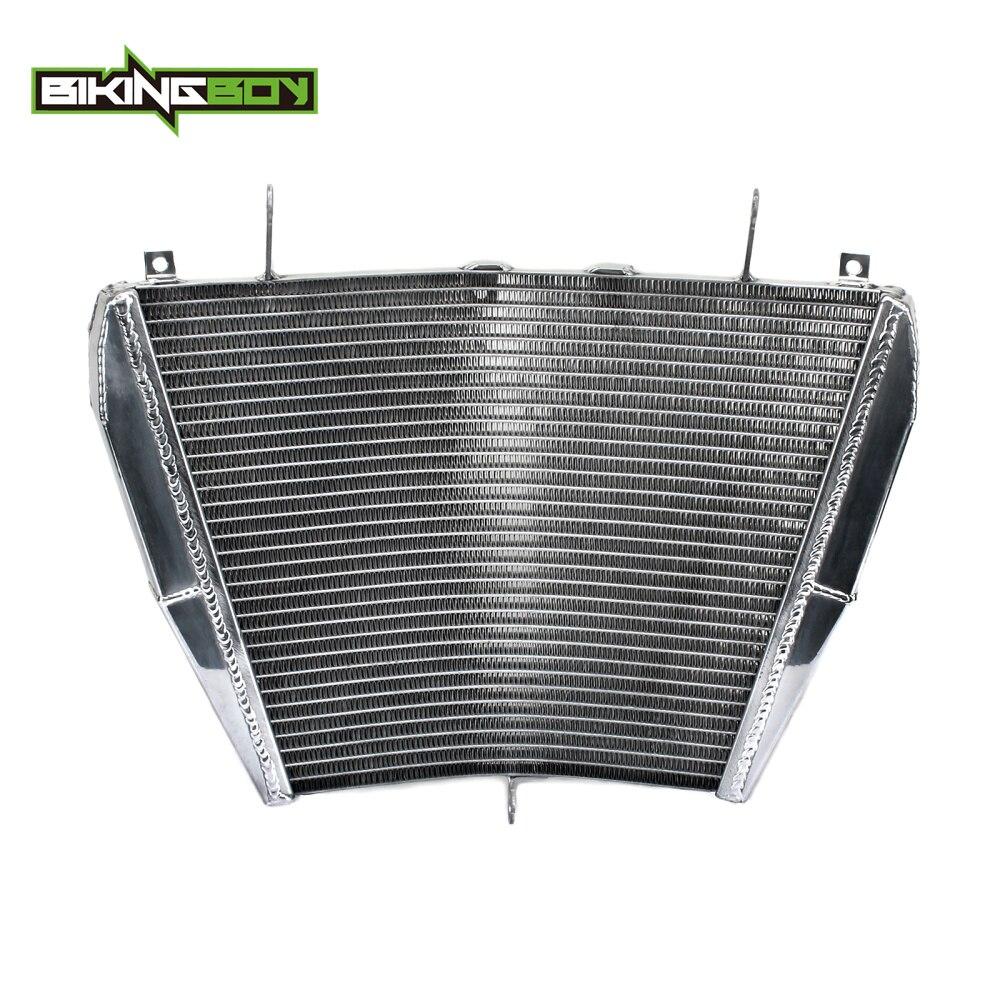 BIKINGBOY Aluminium noyau moteur radiateur refroidisseur refroidissement adapté pour Honda CBR1000RR CBR 1000 RR 1000RR Fireblade 2008 2009 2010 2011
