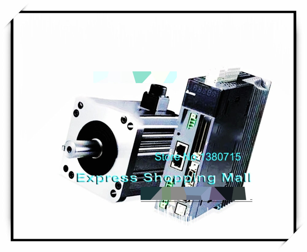 ASD-B2-1021-B+ECMA-C21010RS 100mm 220v 1kw 3.18NM 3000rpm 17bit AC servo motor&drive kit&cable asd b2 1021 b ecma c21010ss 100mm 220v 1kw 3 18nm 3000rpm 17bit delta brake ac servo motor