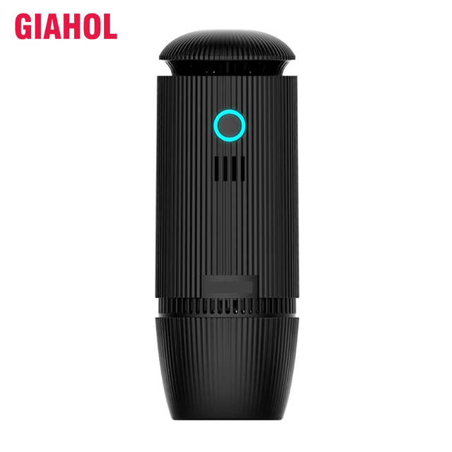 HEPA Car Air Purifier Humidification Ultrasonic Aroma Essential oil Diffuser Negative Ion Purifiers Freshener Air humidifier Car
