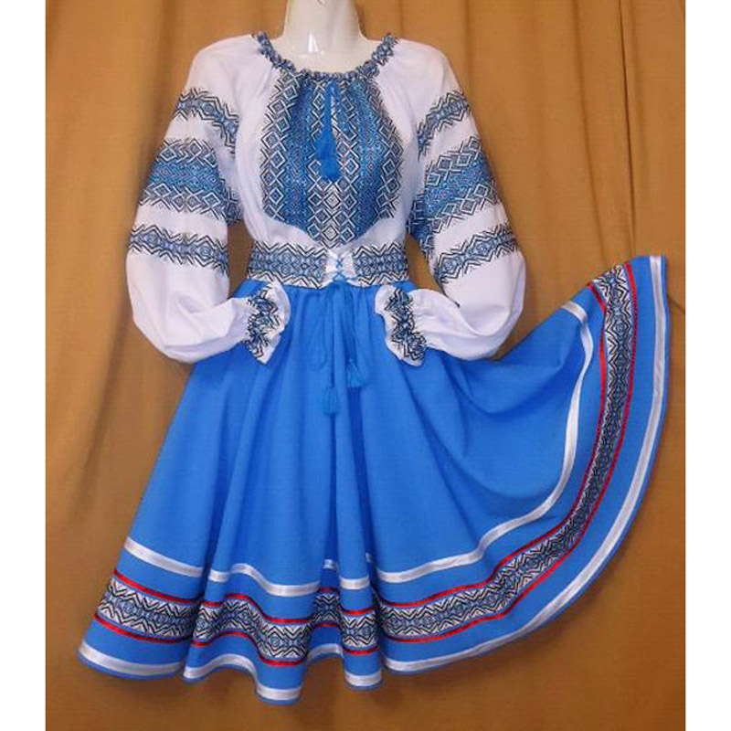 Good Quality Russian Folk Dance Dress For Women Or Kids