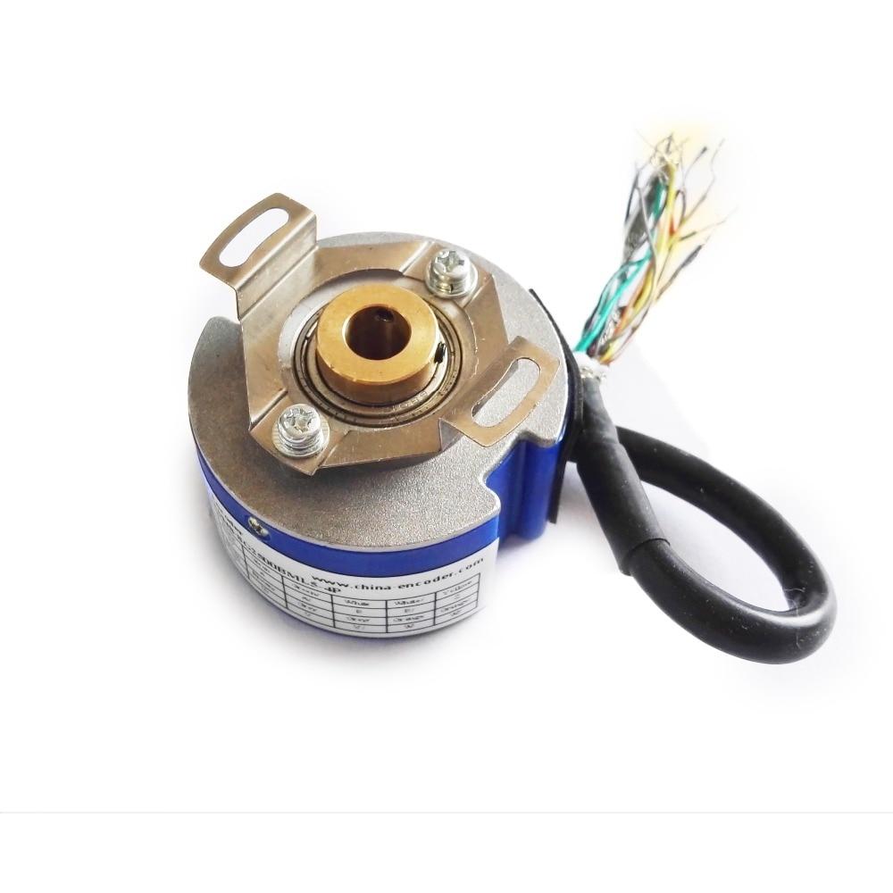 servo motor UVW motor encoder GSM48-9G2500BML5-4P 2500 PPR 5v line driver output 8 poles 788b 2500 8 encoder glass disk 788b2500 8