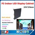 Крытый P3 из светодиодов витрины умирают - литья алюминия 576 * 576 мм P3 SMD RGB модули 192 * 96 пикселей 1/16 сканирования P3 из светодиодов панель