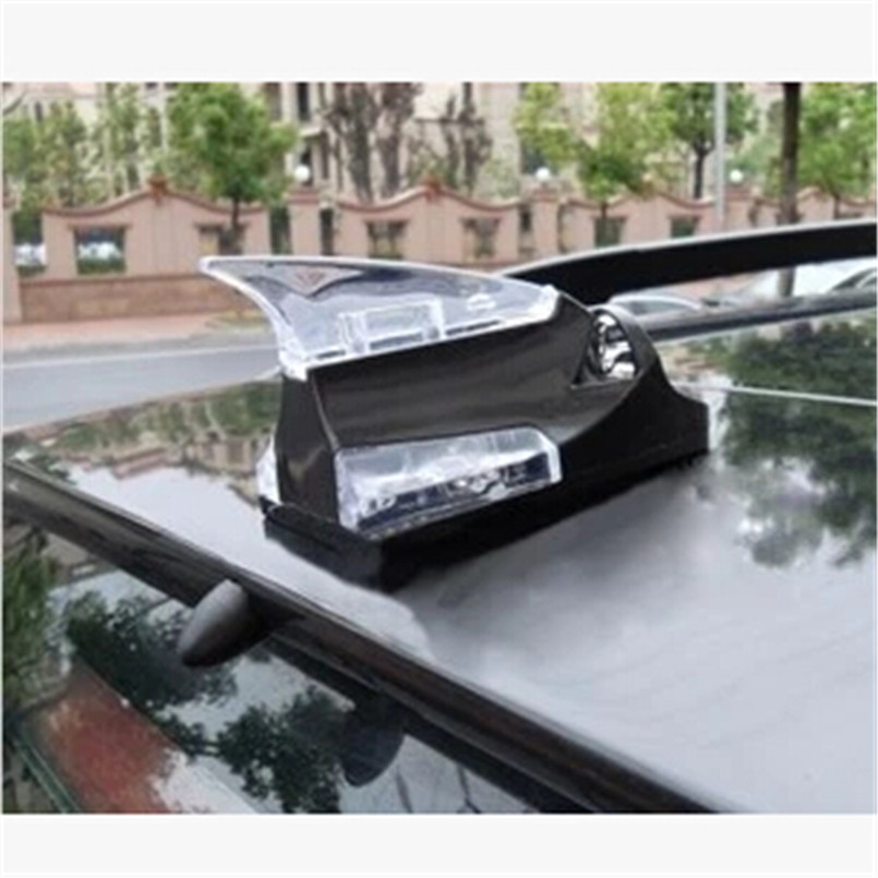 Car Styling Roof Wind Power Lights Decoration Case For