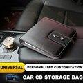 Universal Hohe Qualität CD sonnenschirm lagerung tasche Für MINI COOPER auto styling Für Countryman R50 R53 R55 R56 F55 F56 f54 F60 ect.