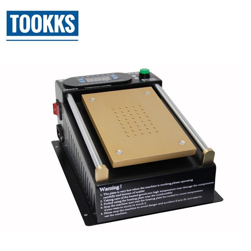 7 polegada separador de Tela de LCD Bomba de Vácuo Embutido Para Separado Vidro da tela De Toque do telefone inteligente