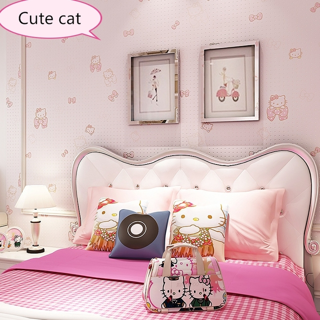 neue baby gesundheit kitty tapete schlafzimmer m dchen. Black Bedroom Furniture Sets. Home Design Ideas