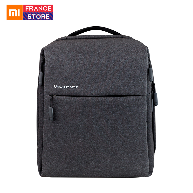 Original Xiaomi Backpack Mi Minimalist Urban Lifestyle Polyester Bag for School Business Travel Laptop Notebook Macbook BagsOriginal Xiaomi Backpack Mi Minimalist Urban Lifestyle Polyester Bag for School Business Travel Laptop Notebook Macbook Bags