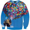 2017 New Brand Women Sport Clothing Color balloon Hoodie High Quality Sweatshirt Fashion Pullover Long Sleeve Sws-0337