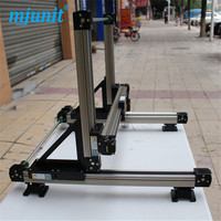 High Strength Motorized Linear rail 3 axis linear stage long life time use Stepping Motor Drive/Servo Drive guideways