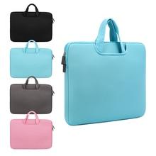 11 13 14 15 15.6 inch Laptop Bag Computer Sleeve Case Handbags Dual Zipper Shockproof Cover For Laptop MacBook Air Pro Retina