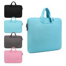 11 13 14 15 15.6 inch Laptop Bag Computer Sleeve Case Handbags Dual Zi