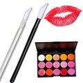 100 Pcs Disposable Lipstick Lip Brush + 15 Colour Contour Kit Makeup Lipstick Concealer Camouflage Neutral Palette