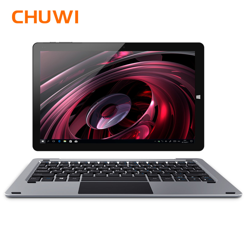 Original CHUWI Hi10 Plus Tablet PC Windows 10 Android 5.1 Intel Atom Z8350 Quad Core 4GB RAM 64GB ROM 10.8 Inch 1920X1280 2.0MP