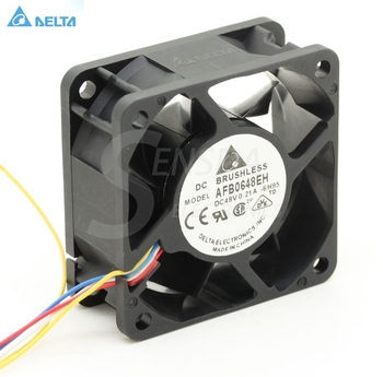 Genuine 6cm 6025 24V 0.36A AFB0624EH three-wire ball server cooling fan
