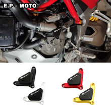Motocycle Water Pump Protector Slider Guard Cover For Ducati Monster 821  1200S Multistrada 950