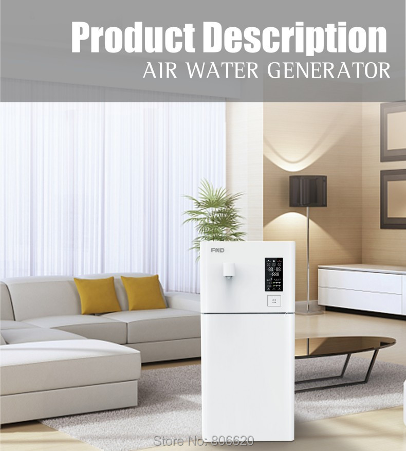 Home 20LD Pure Atmospheric Air to Water Treatment Dispenser Generator with Intelligent RO Filter & NFC Code-Scanning Match Tech_Product_8
