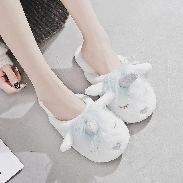 Chaussons petite licorne