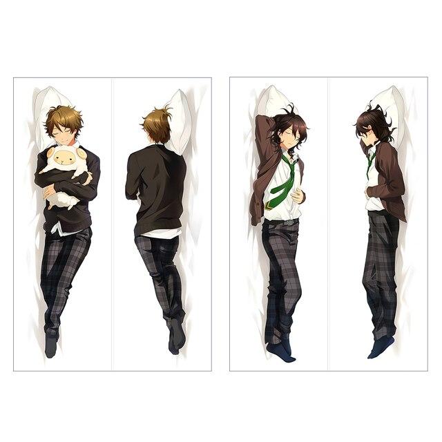 Japanese Anime Sakuma Rei Male Takamine Midori Hugging Body Pillow Gorgeous Anime Boy Body Pillow Covers