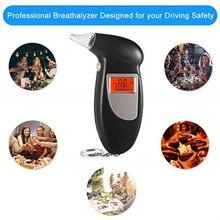 Профессиональный тестер на алкоголь и дыхание, анализатор, детектор, тест, брелок, алкотестер, тестер, DeviceLCD экран