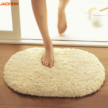 Plush Fabric Anti-slip Mat Thick Floor Carpets for Living Room  kitchen Bathroom Water Absorption Floor Rug Mat Toilet 400*600mm