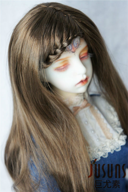 JD204 1/3 doll wig synthetic mohair wig 8-9 nch Lady curly BB wigs doll accessories SD doll accessories