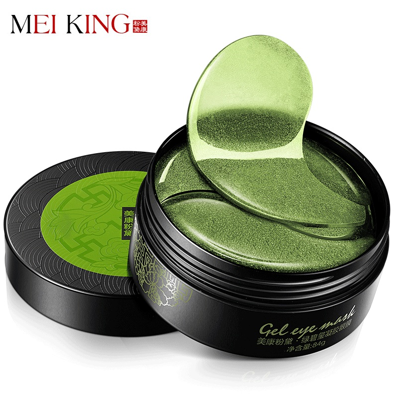 MEIKING Collagene Crystal Eye Mask Eye Gel Patch 60 pz Cura Degli Occhi Maschere sonno Remover Dircles Anti Age Scuro Sacchetto Occhio Rughe Patch