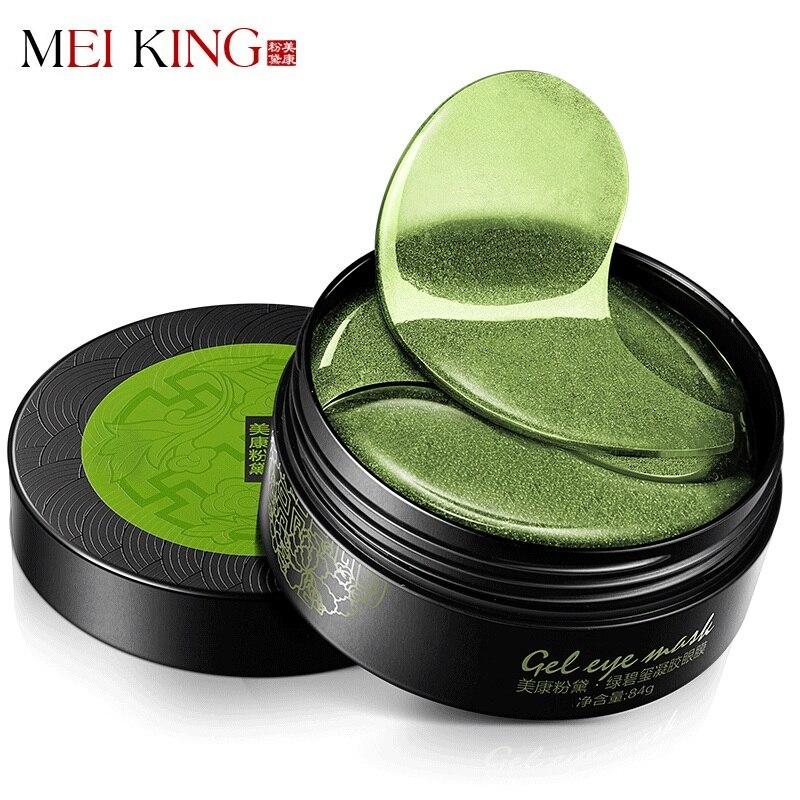 MEIKING Collagene Crystal Eye Mask Eye Gel Patch 60 pz Cura Degli Occhi Maschere sonno Remover Dircles Anti Age Scuro Sacchetto Occhio Rughe Patch