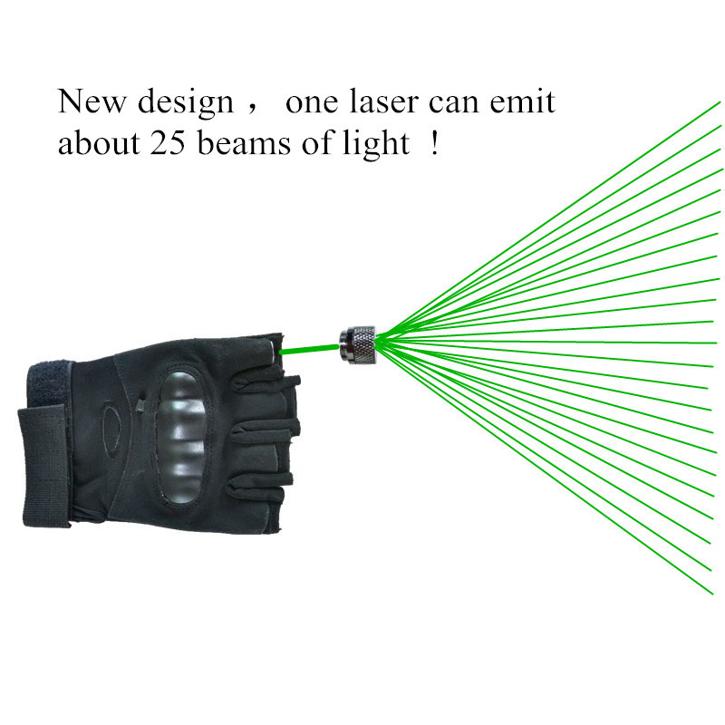 High Quality Leather Strong Green Laser Glove 1 Pcs Green Lasers Hot Sell DJ Party Green