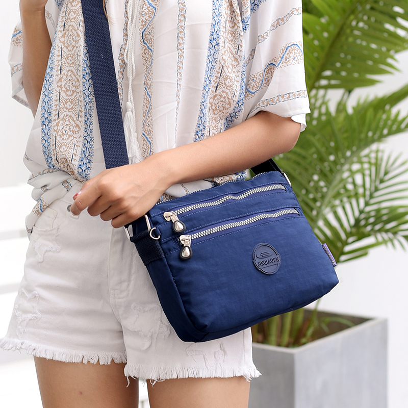 Summer Style Women Shoulder Bag Messenger Bags Female Handbags Famous Brands Nylon Crossbody Bags Bolsas Sac A Main Femme in Top Handle Bags from Luggage Bags