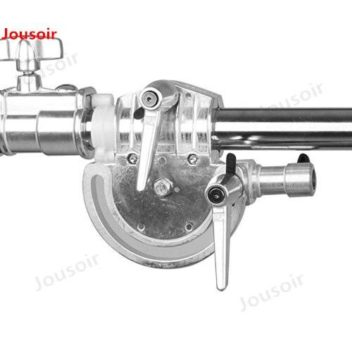 Altura Máxima 330 cm Refletor Ajustável Suporte de Metal com 115-236 cm Segurando Boom Arm para Fotografia de Estúdio de Vídeo flash CD50