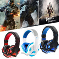 3.5mm Gaming subwoofer good bass earphone Headphone Headset headfone casque audio With Microphone For PC Computer Gamer player