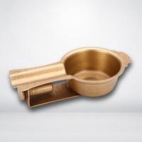 Creative Metal Pure Copper Portable Perforation Opener Cigar Ashtray